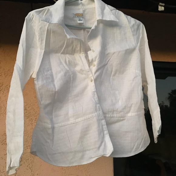 Talbots Tops - Talbots white blouse